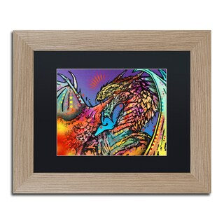 Dean Russo 'Dragon' Matted Framed Art