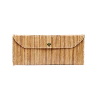 Viva Bags Brown Envelope Clutch - Small