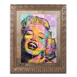 Dean Russo 'Marilyn' Ornate Framed Art