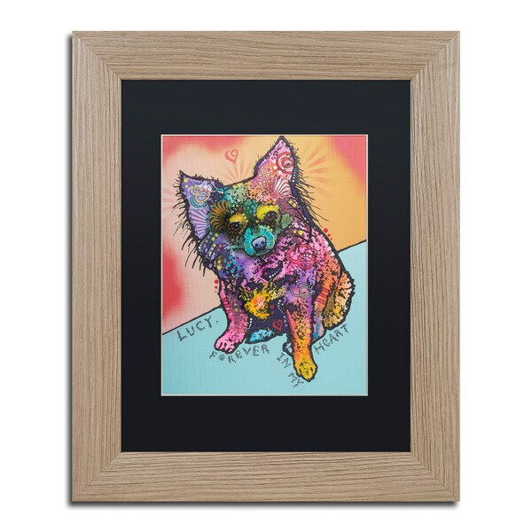 Dean Russo 'Lucy B' Matted Framed Art - Multi
