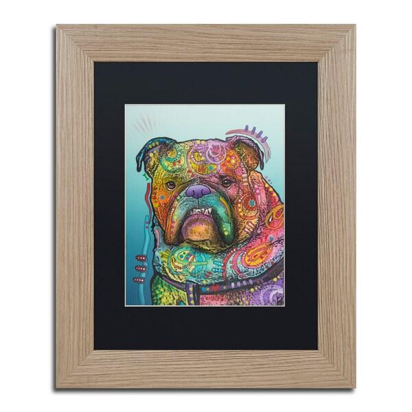 Dean Russo 'Vinny' Matted Framed Art