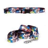 Yellow Dog Design American Dream Standard Collar & Lead Set