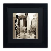 Alan Blaustein 'Cordoba II' Matted Framed Art