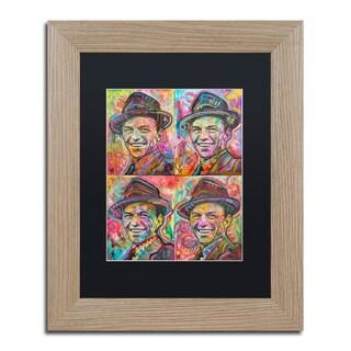 Dean Russo 'Sinatra Quadrant' Matted Framed Art