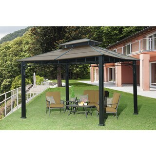 10ft x 12ft Richland Gazebo  Faux Copper top