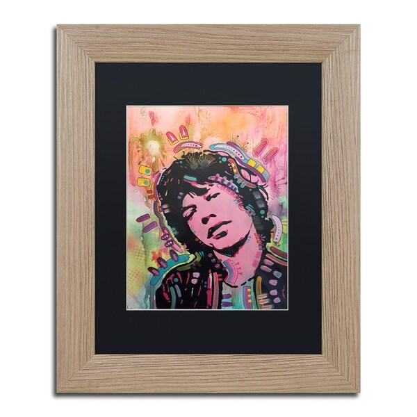 Dean Russo 'Mick 1' Matted Framed Art