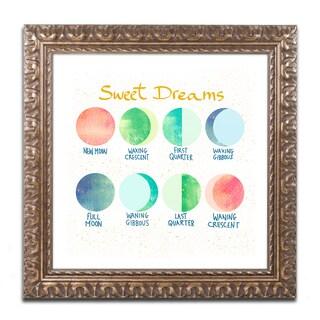 Lisa Powell Braun 'Sweet Dreams' Ornate Framed Art