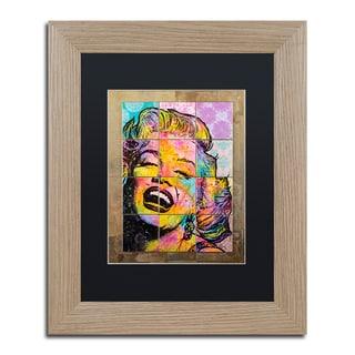 Dean Russo 'Marilyn' Matted Framed Art