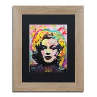 Dean Russo 'Marilyn 2' Matted Framed Art - Multi