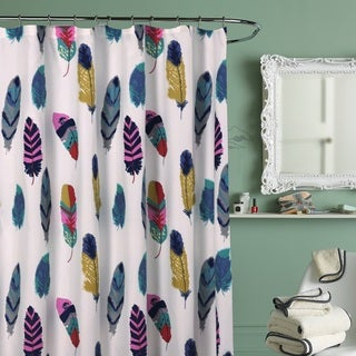 Dream Catcher Feathers Shower Curtain