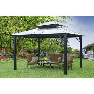 10ft x 12ft Rolla Gazebo - PC top