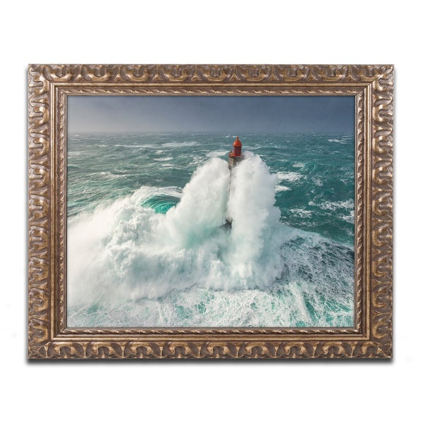 Mathieu Rivrin 'Power of Nature' Ornate Framed Art