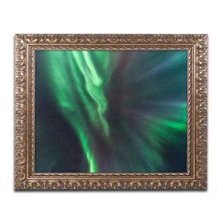 Mathieu Rivrin 'Lights of Gods' Ornate Framed Art