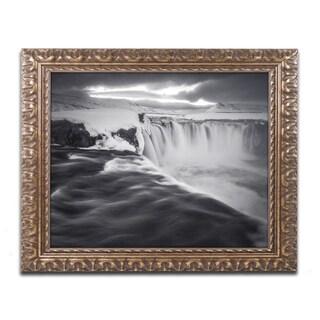 Mathieu Rivrin 'Godafoss' Ornate Framed Art