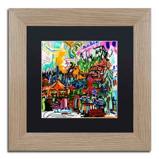 Josh Byer 'A Nice Place To Live' Matted Framed Art