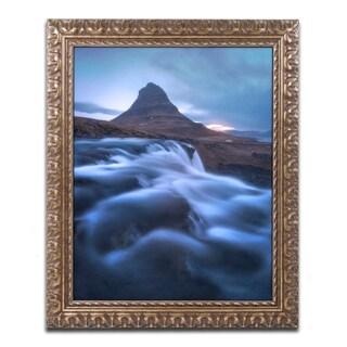 Mathieu Rivrin 'Dance of the River' Ornate Framed Art