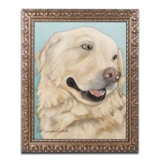 Pat Saunders-White 'Jasper' Ornate Framed Art