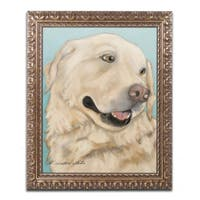 Pat Saunders-White 'Jasper' Ornate Framed Art