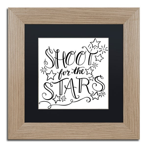 Elizabeth Caldwell 'Shoot For the Stars' Matted Framed Art