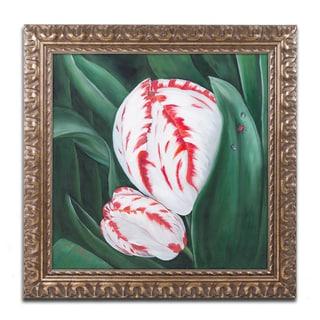 Lily van Bienen 'Mother and Child' Ornate Framed Art