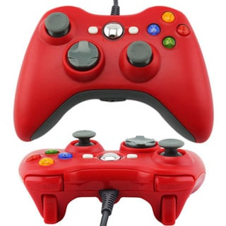 USB Wired GamePad Joypad Controller For Microsoft Xbox 360 Slim PC Windows