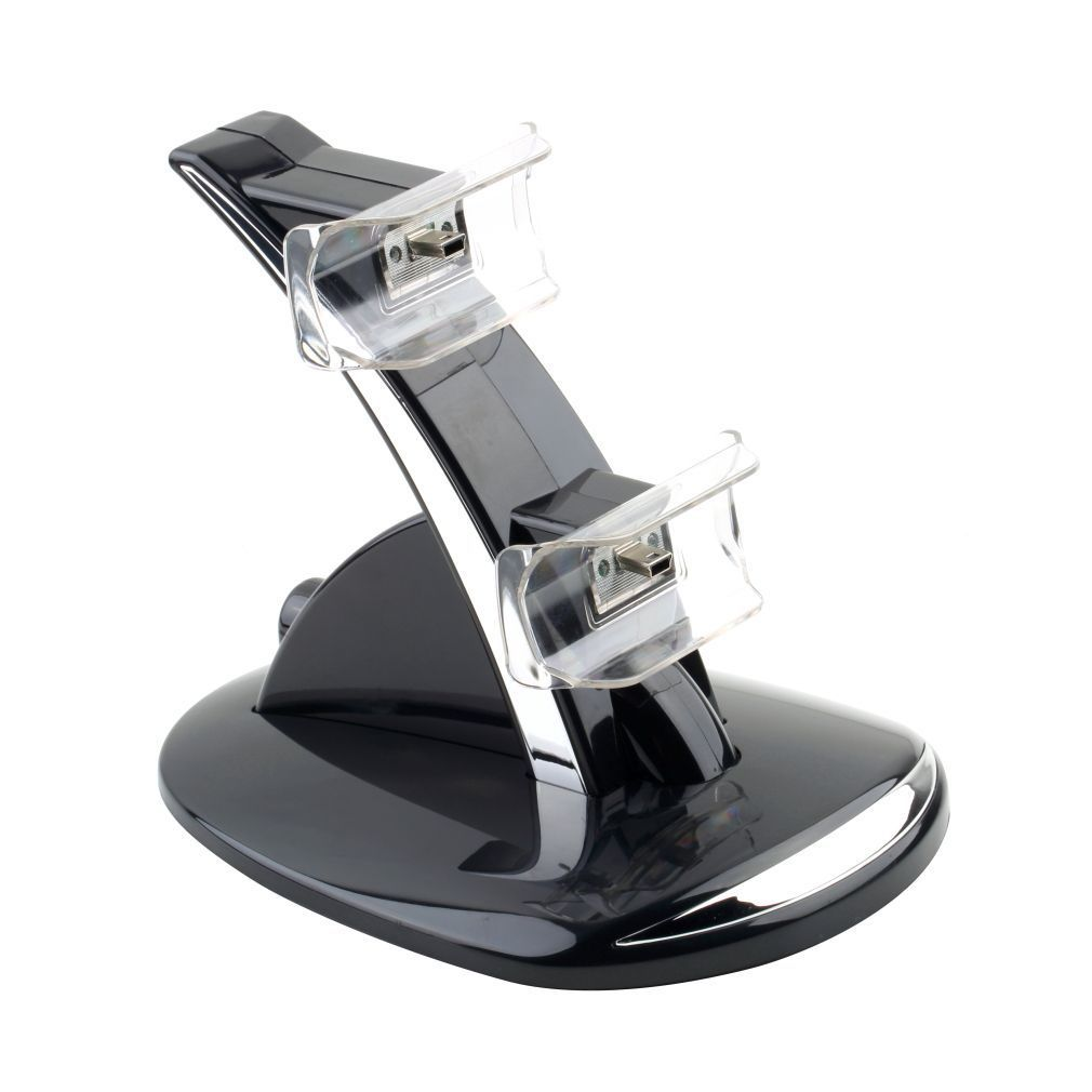 Dual LED Docking Charger Stand Station For Sony PS3 Wirel...