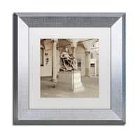 Alan Blaustein 'Lucca II' Matted Framed Art