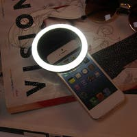 Rechargeable Selfie LED Ring Camera Fill Light  for iPhone for Android