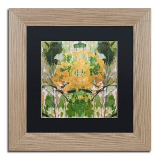 Lisa Powell Braun 'Geode Abstract 2' Matted Framed Art