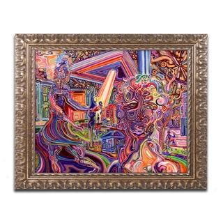 Josh Byer 'Mothership' Ornate Framed Art