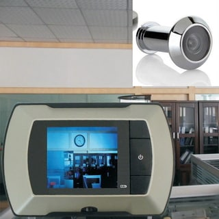 2.4'' LCD Visual Monitor Door Peephole Peep Hole Wired Viewer Camera Video