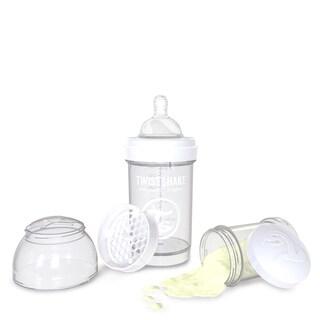 Twistshake White 6-ounce Anti-Colic Baby Bottle
