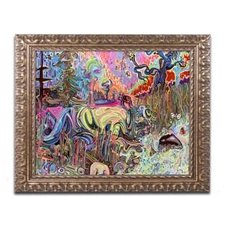 Josh Byer 'Water' Ornate Framed Art