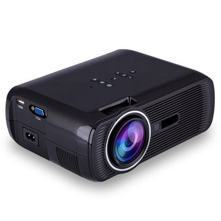 1000 Lumens Portable HD 3D LED Projector Home Cinema Theater VGA USB AV HDMI