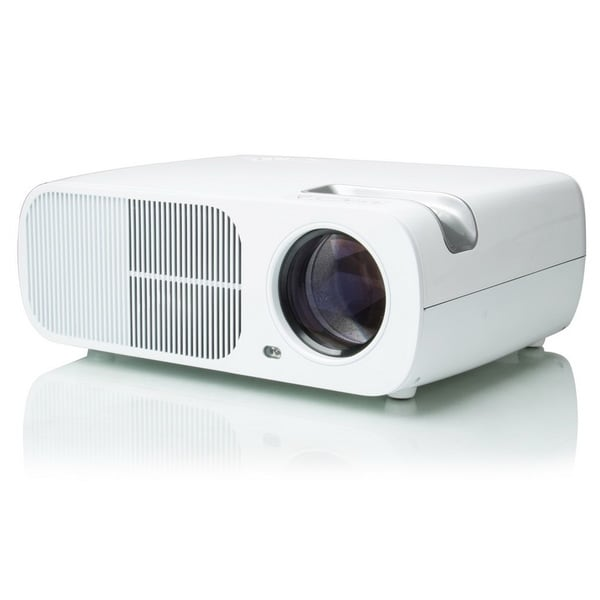 Giantex Best Hd Home Theater Multimedia Lcd Led Projector: Shop White 3200 Lumens FULL HD 1080P Home Cinema Theater
