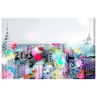 Oliver Gal 'Under the City Lights' Canvas Art