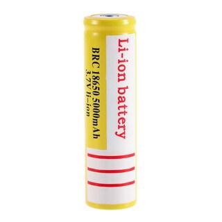 18650 3.7V 5000mAh Li-ion Rechargeable Li-ion Battery for LED Flashlight (Box of 2)