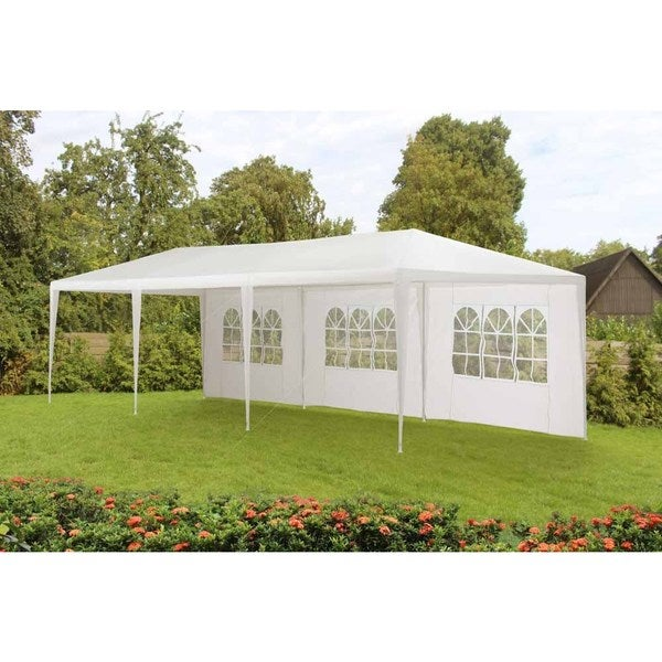 10ftx30ft Budget party tent without Fire Retardant  sc 1 st  Overstock & 10ftx30ft Budget party tent without Fire Retardant - Free Shipping ...