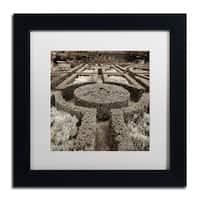 Alan Blaustein 'Tuscan Giardini I' Matted Framed Art