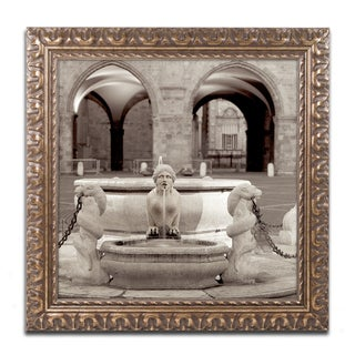 Alan Blaustein 'Bergamo I' Ornate Framed Art
