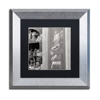 Alan Blaustein 'Il Pane I' Matted Framed Art