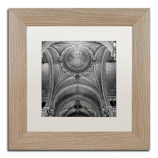 Alan Blaustein 'Lyon I' Matted Framed Art