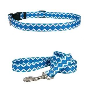 Yellow Dog Design Aztec Storm Standard Collar & Lead Set