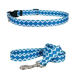 Yellow Dog Design Aztec Storm Standard Collar & Lead Set