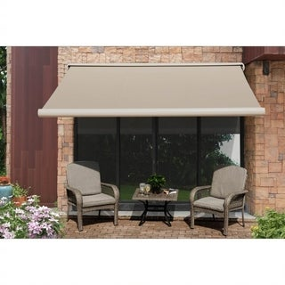 Beige Full Cassette Awning 10ftX8ft
