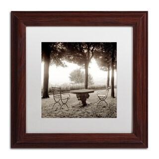 Alan Blaustein 'Fiesloe Giardini I' Matted Framed Art