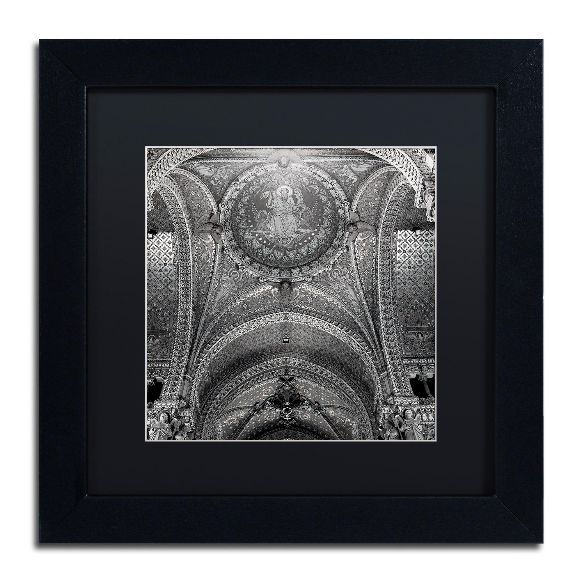 Trademark Alan Blaustein 'Lyon I' Matted Framed Art (11x1...