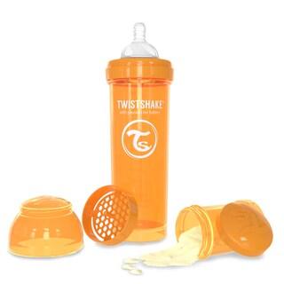 Twistshake Orange 11-ounce Anti-Colic Baby Bottle