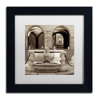 Alan Blaustein 'Bergamo I' Matted Framed Art
