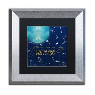 Lisa Powell Braun 'Universe' Matted Framed Art